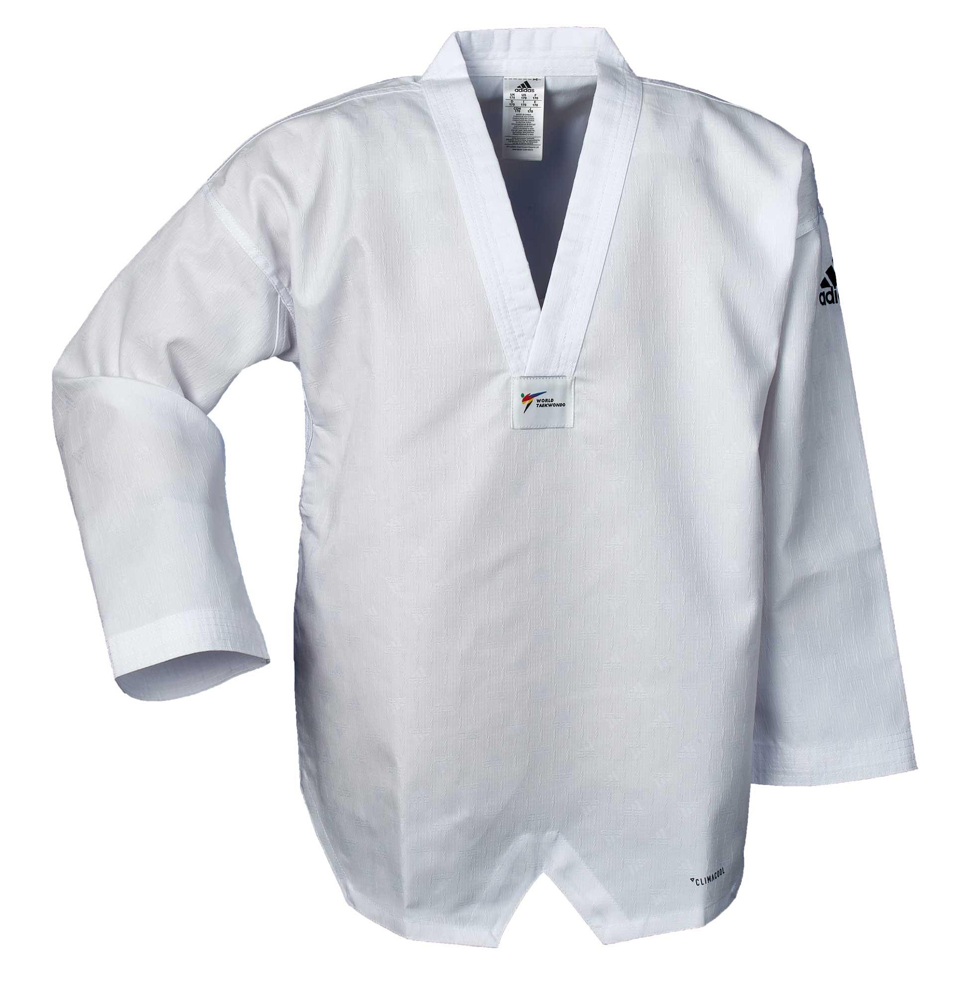 adidas Taekwondo Anzug adiChamp IV, weißes Revers, ADITCH04