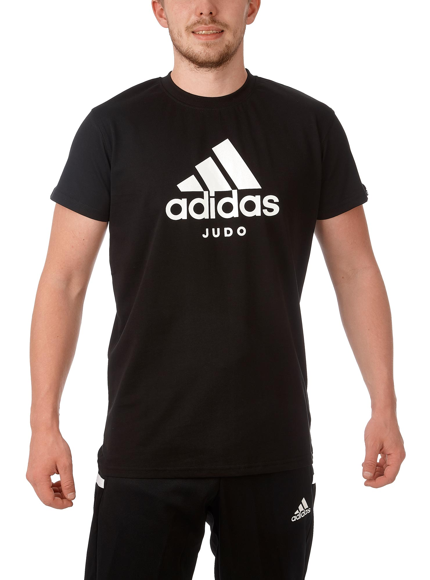 adidas Community Line T Shirt Judo Performance ADICTJ blackwhite