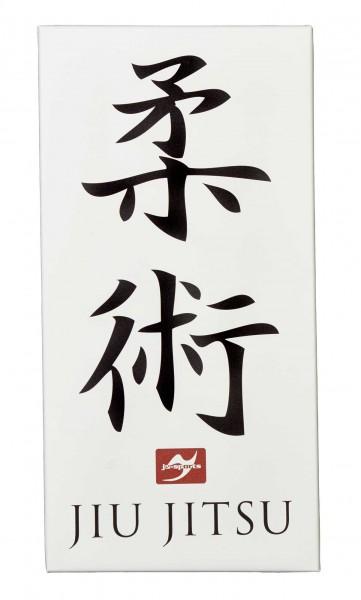 Leinwanddruck Ju-Jutsu Kanji, 80x40 cm