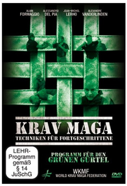Krav Maga - Techniken für Fortgeschrittene, DVD 281 (Grüngurt)