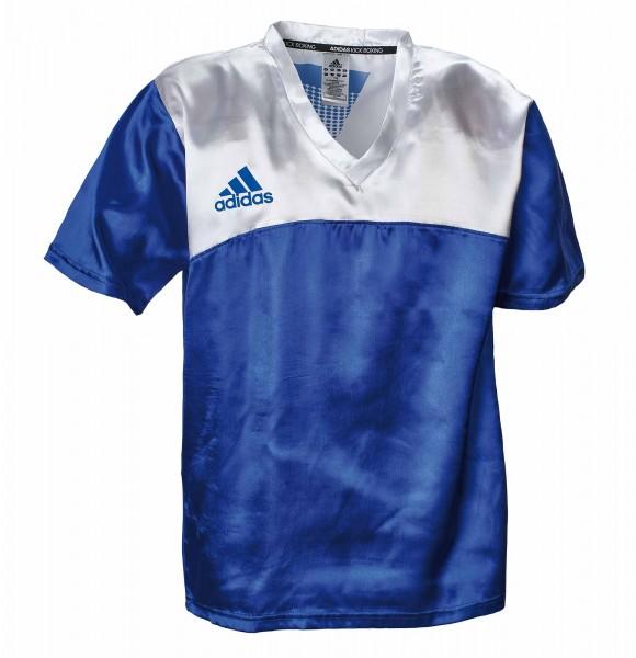adidas Kickbox-Shirt blau/weiß, adiKBUN100S