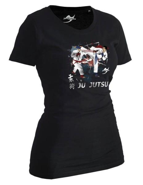 Ju-Jutsu-Shirt Competition schwarz Lady