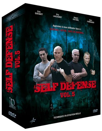 3 DVD Box Self Defense Vol.5