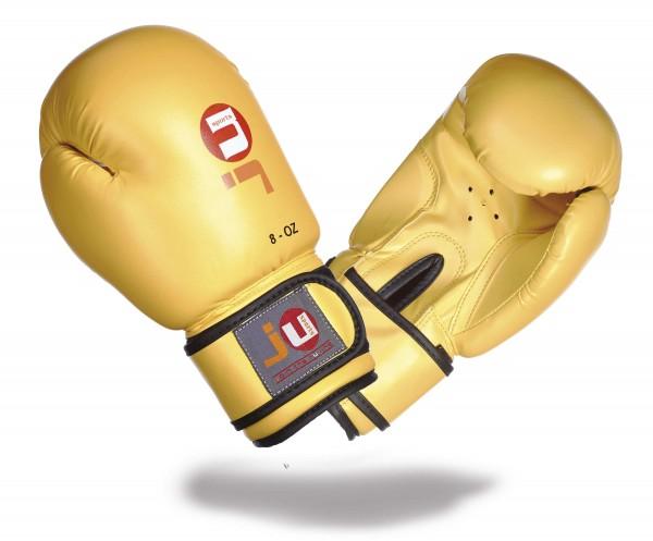 Boxhandschuhe Kinder gelb, altes Logo