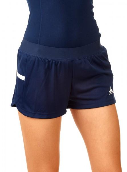 adidas T19 Run Shorts Damen blau/weiß, DY8813
