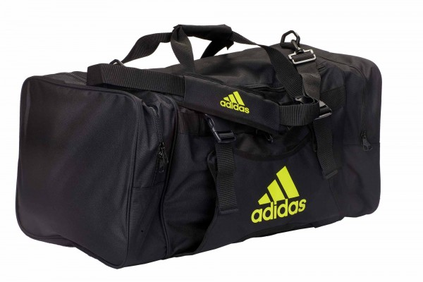 adidas Taekwondo Team-Tasche mit Westenhalter ADIACC107 black/shock yellow