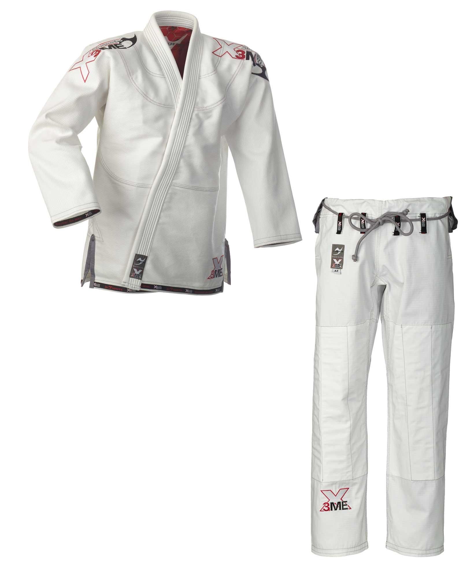 Brazilian Jiu-Jitsu Anzug Ju-Sports BJJ Gi Mythos wei/ß C19