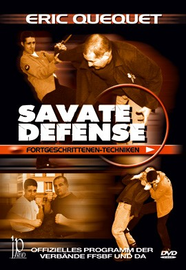 Savate defense Fortgeschrittenen-Techniken, DVD 118