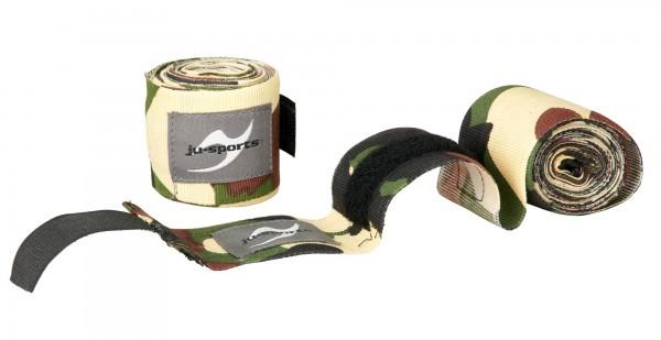 Boxbandagen unelastisch Camouflage