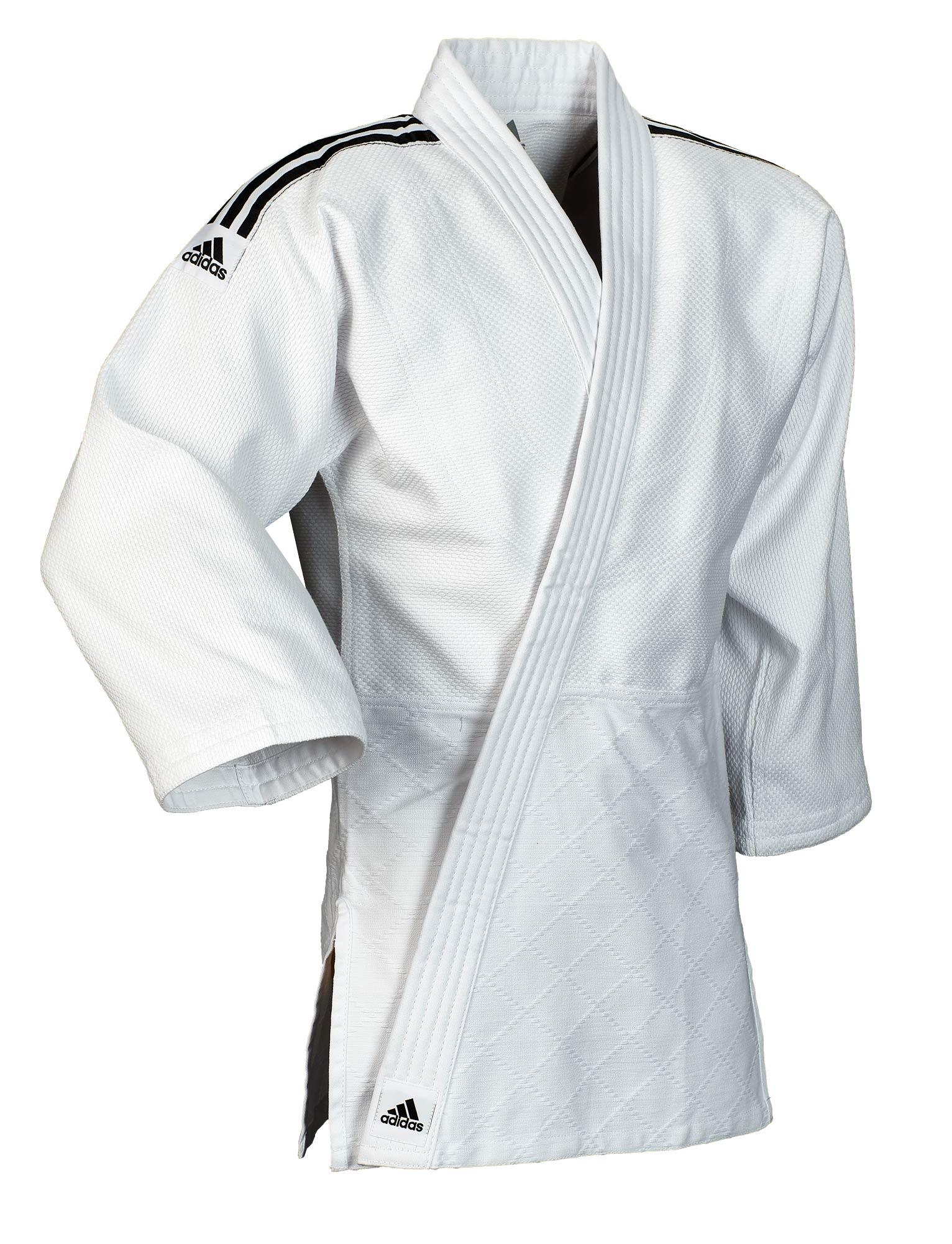 Destello cubo Definitivo  adidas judo gi Training J500 white/black stripes | adidas | Brands |  Ju-Sports