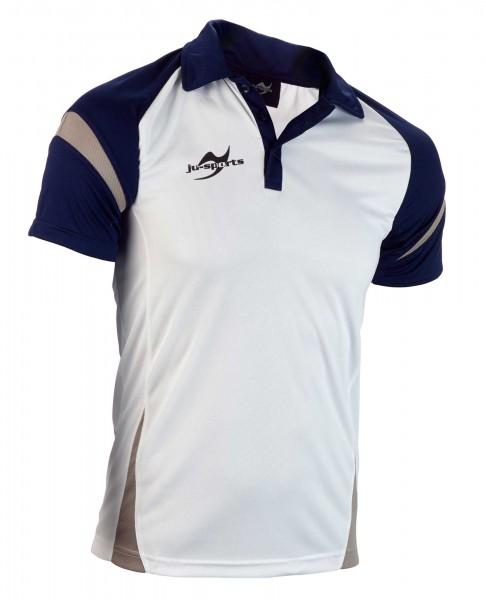 Teamwear Element C2 Polo weiß/navy blau
