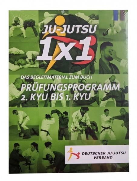 Prüfungsprogramm 2.Kyu - 1.Kyu Ju-Jutsu vom DJJV DVD 2