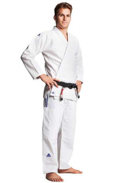"""adidas BJJ Anzug """"IBJJF Champion"""" weiß, JJ601"""