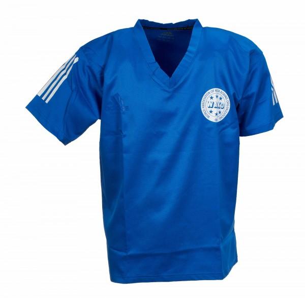 adidas Kickbox-Point Fighting Shirt blau, adiPFT1