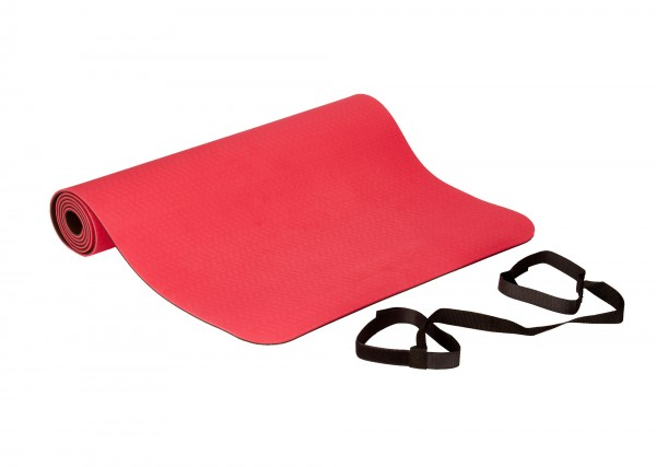 Deuser Yoga Matte rot 121045R