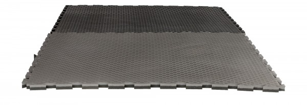 """Puzzlematte Pro """"Checker"""" 2 cm schwarz/grau Wendematte"""