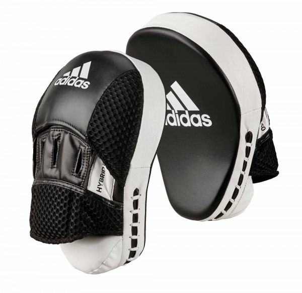 adidas Pratze Focus Mitt Hybrid 150 black/white PU, adiH150FM