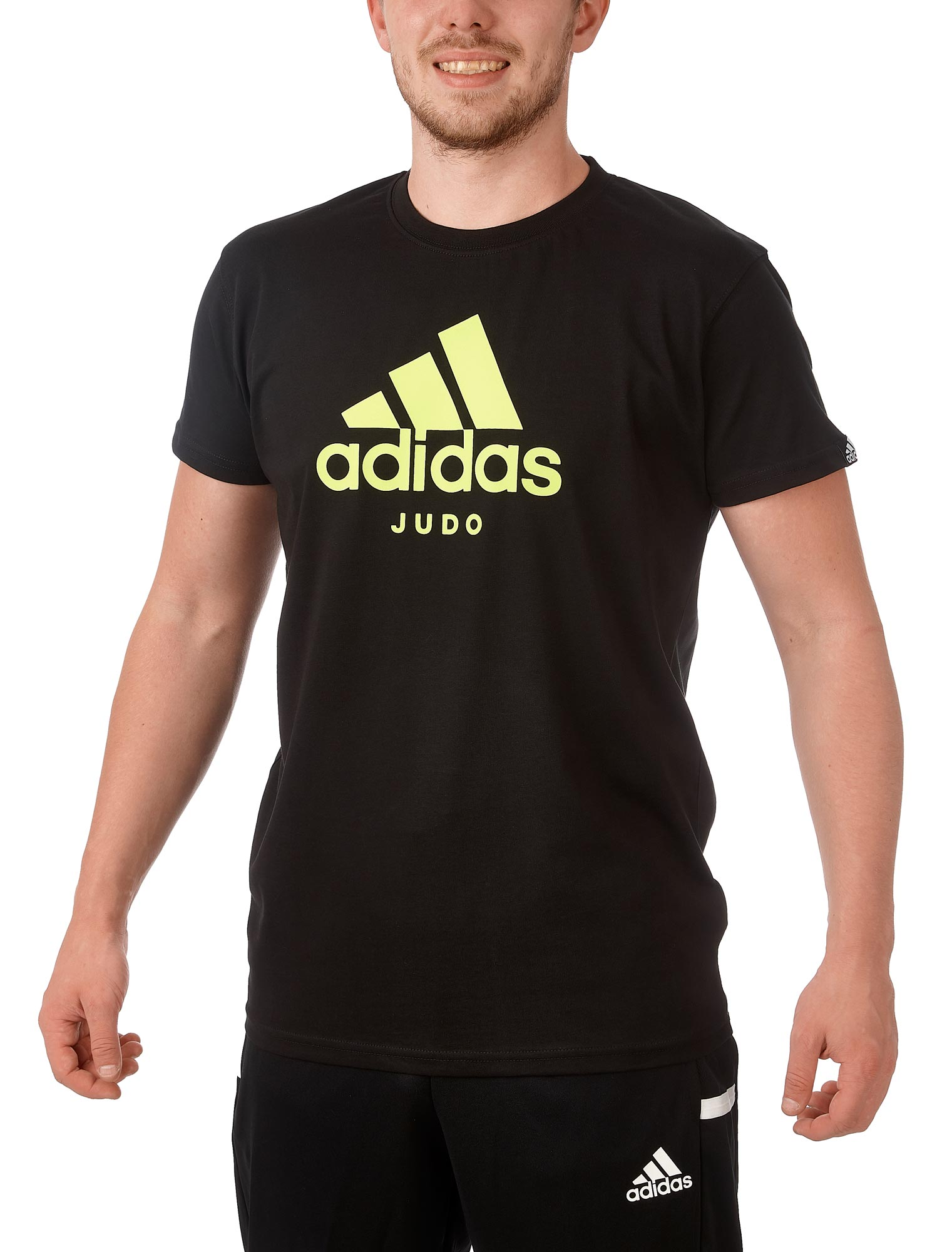 adidas Community Line T Shirt Judo Performance ADICTJ blackyellow