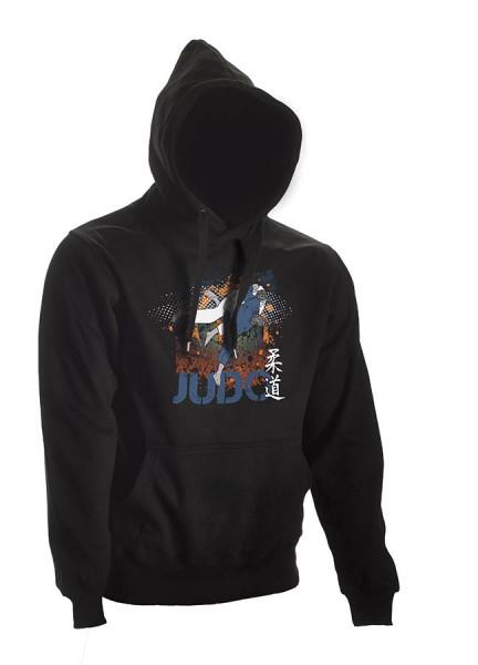 Judo Hoodie All Japan schwarz