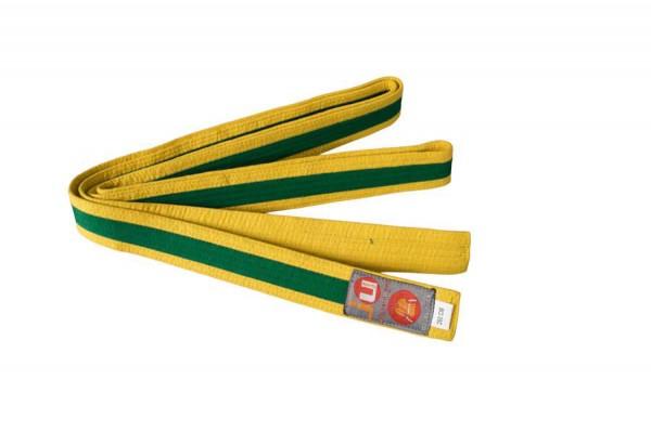 Budogürtel gelb/grün/gelb