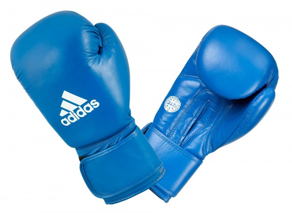 adidas Amateur Boxing Gloves Leather - blue, ADIWAKOG1