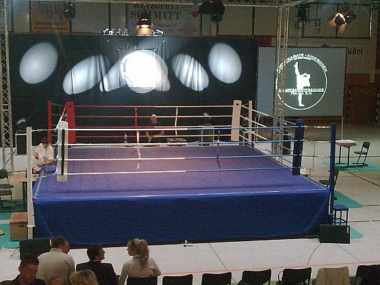 Boxringsverleih: Splitlevel Boxring (nur Boxen/Kickboxen)