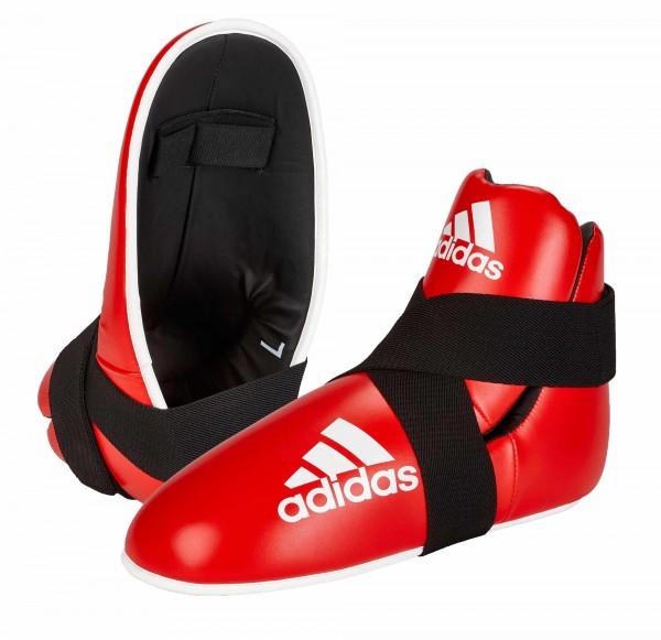 adidas Pro Kickboxing Fußschutz red, adiKBB100