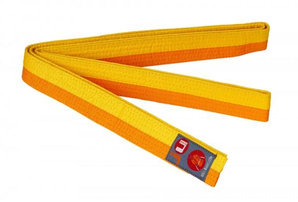 Budogürtel gelb/orange (halb/halb)