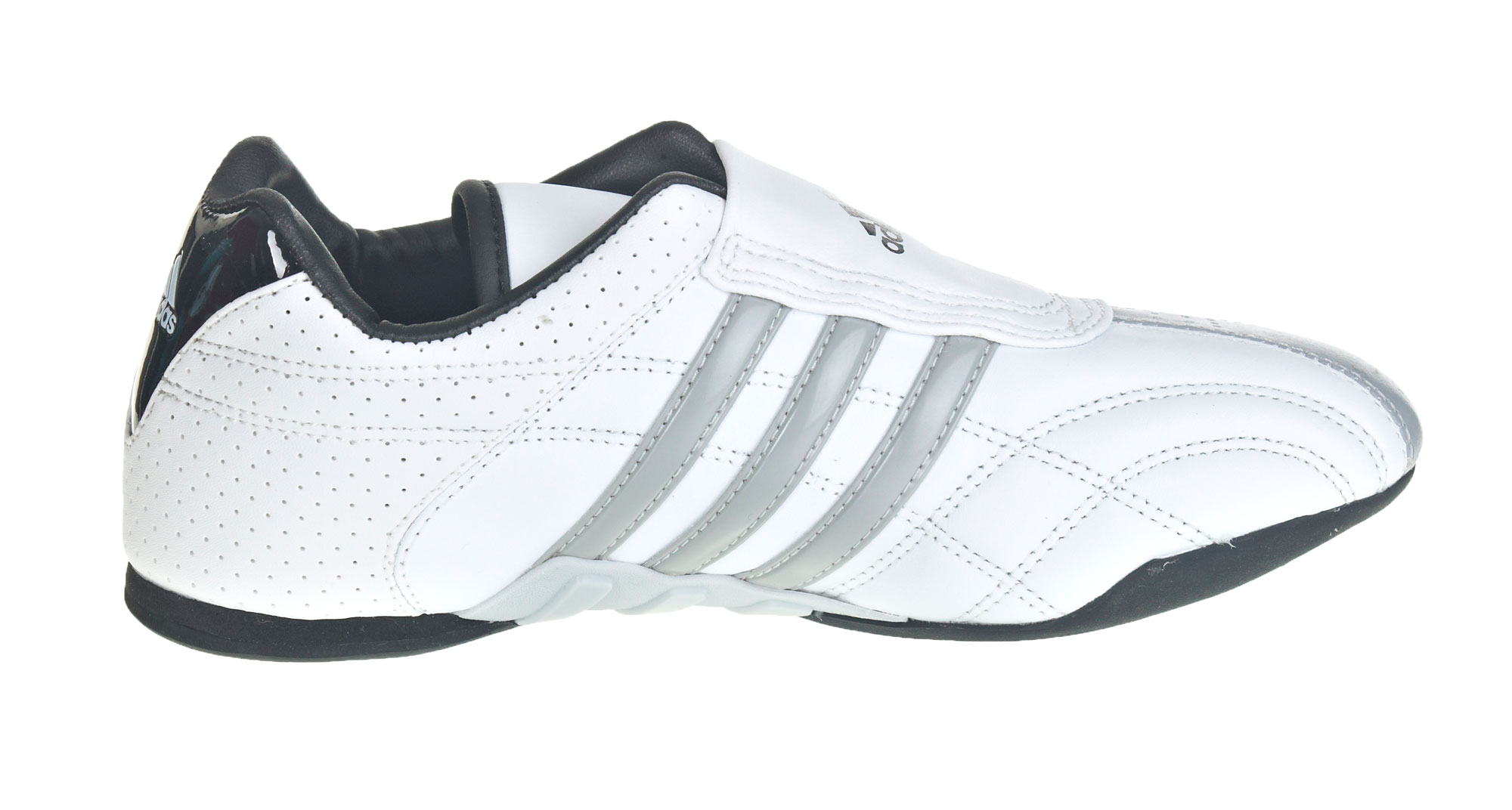 adidas adilux TKD sneakers white grey stripes