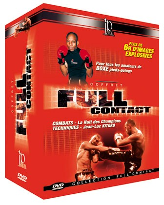 FULL CONTACT-PACK (dvd 112 - dvd 113 - dvd 123 - dvd 124)