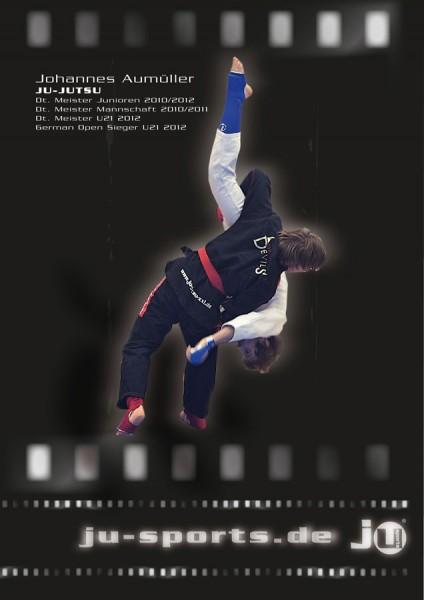 """Poster Ju-Jutsu """"Ausheber"""""""
