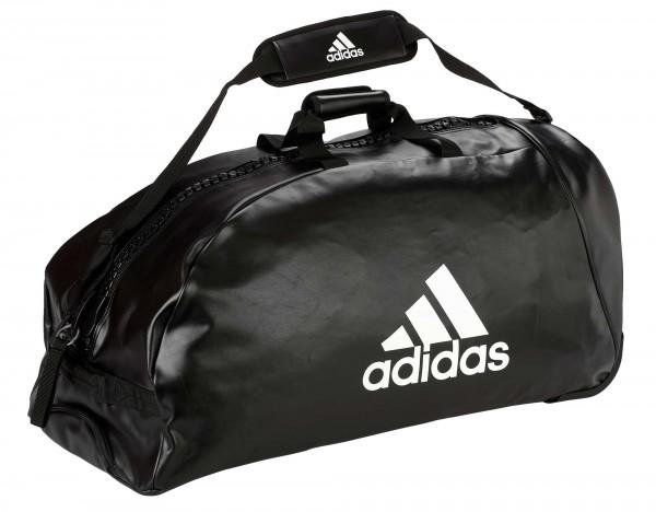"adidas Trolley ""martial arts"" black/white PU, adiACC056"