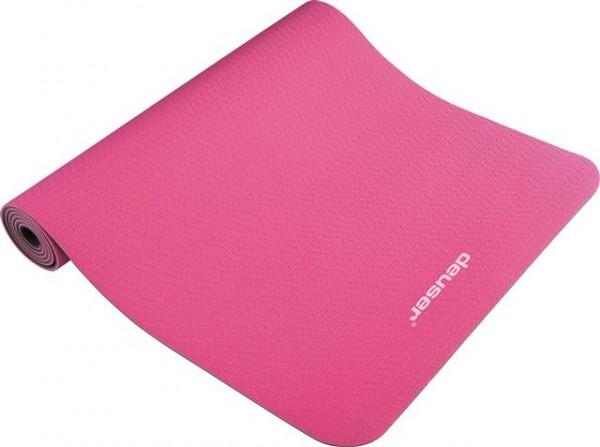 Deuser Yoga Matte pink 121045P