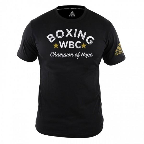 adidas WBC T-Shirt Boxing - black, adiWBCTB01