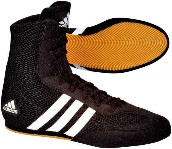 Boxen Box Hog Schwarz 2 Boxschuhe Adidas Boxstiefel Schuhe