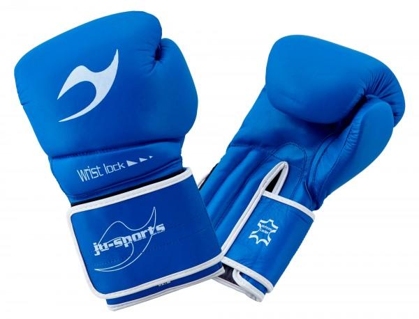 Boxhandschuh C16 Competitor pro Leder blau