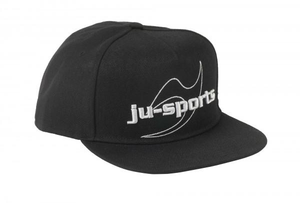 """Ju-Sports """"Snap Five Logo Cap 3D black"""""""